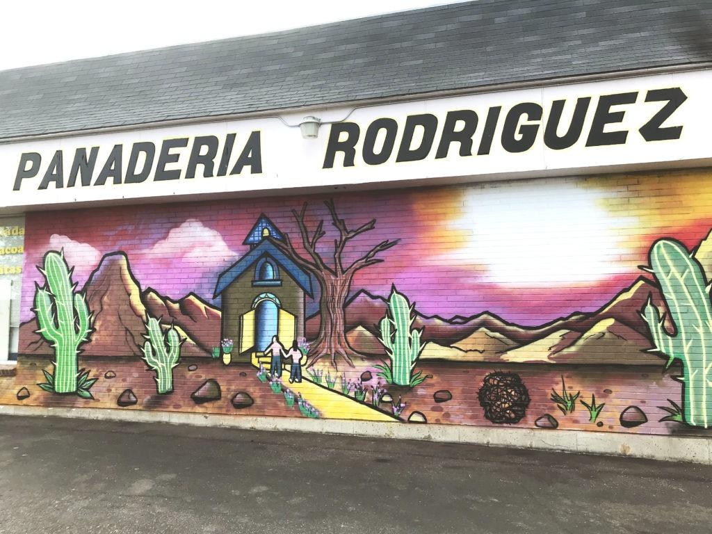 Panaderia Rodriguez Mural